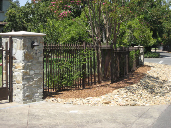 Residental Iron Fence San Marcos