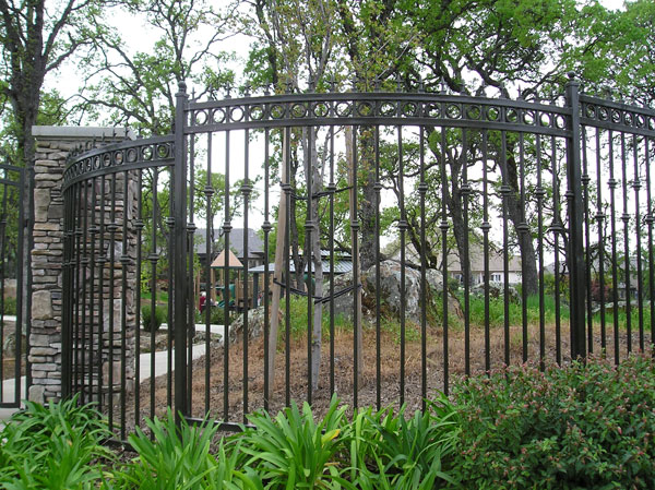 Ornamental Wrought Iron Fence San Marcos