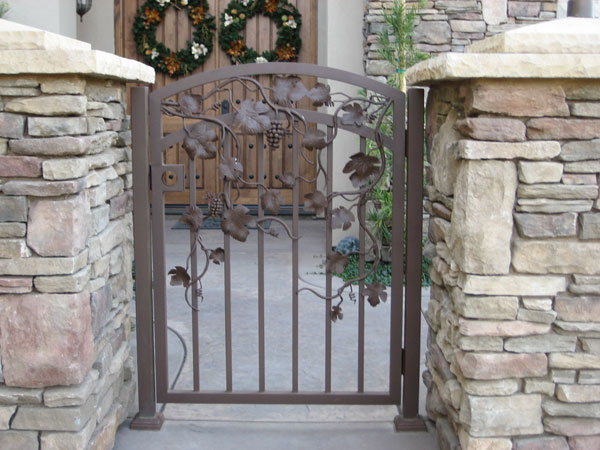 Iron Entry Gates San Marcos