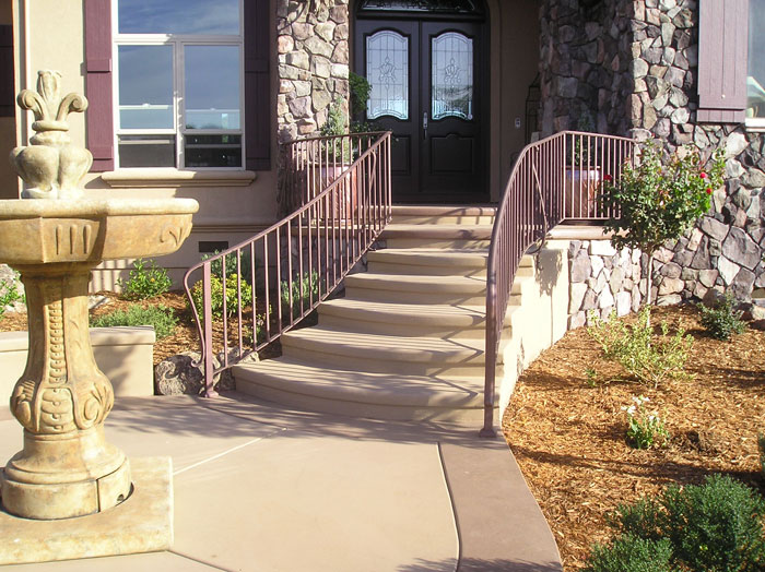 Front Porch Iron Railings Escondido, CA