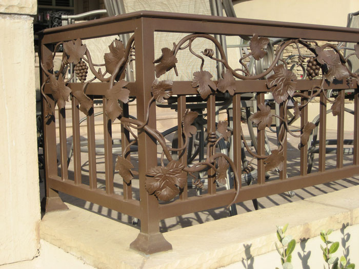Front porch railing ideas - Wrought Iron Railings Escondido Hand Railings Escondido