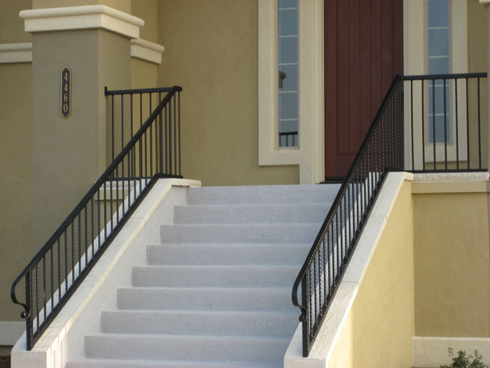 Exterior Stair Railings Escondido, ...