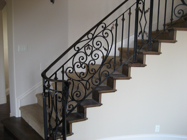 Superior Interior Iron Railings Escondido, ...